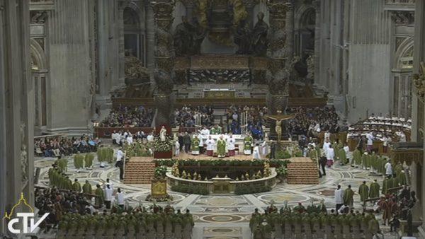 Papa Francisco celebra Jubileu dos Presos em Roma./ Foto: Reprodução CTV