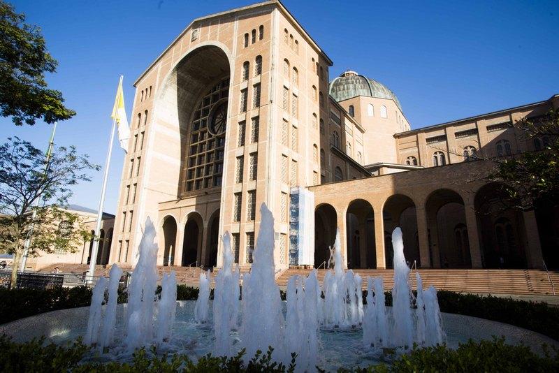 Santuário Nacional de Aparecida é a nova catedral da Arquidiocese de Aparecida / Foto: Thiago Leon - Arquidiocese de Aparecida