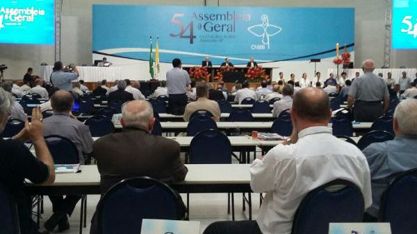 Bispos reunidos em Aparecida na 54ª Assembleia Geral da CNBB / Foto: Jéssica Marçal - CN