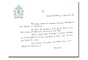 Primeiro número traz na capa um quirógrafo de Francisco / Foto: Reprodução L'Osservatore Romano