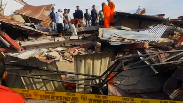Terremoto na Indonésia causa pelo menos 97 mortes / Foto: Reprodução Reuters
