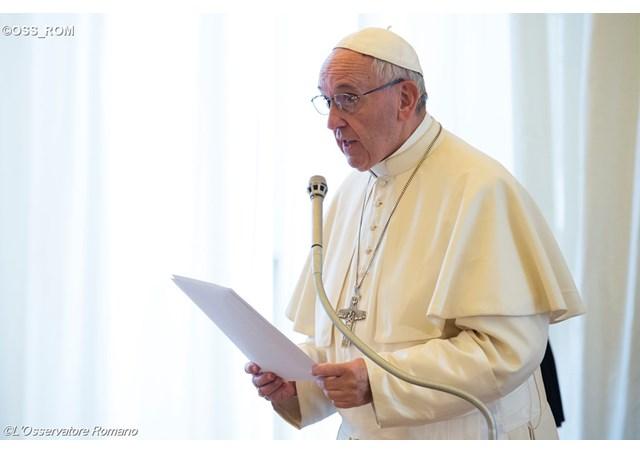 Papa fala da necessidade de combater fenômeno mafioso / Foto: L'Osservatore Romano