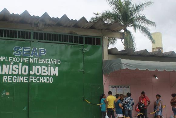 Complexo Penitenciário Anísio Jobim, em Manaus / Foto: Divulgação/Secretaria de Administração Penitenciária do Amazonas