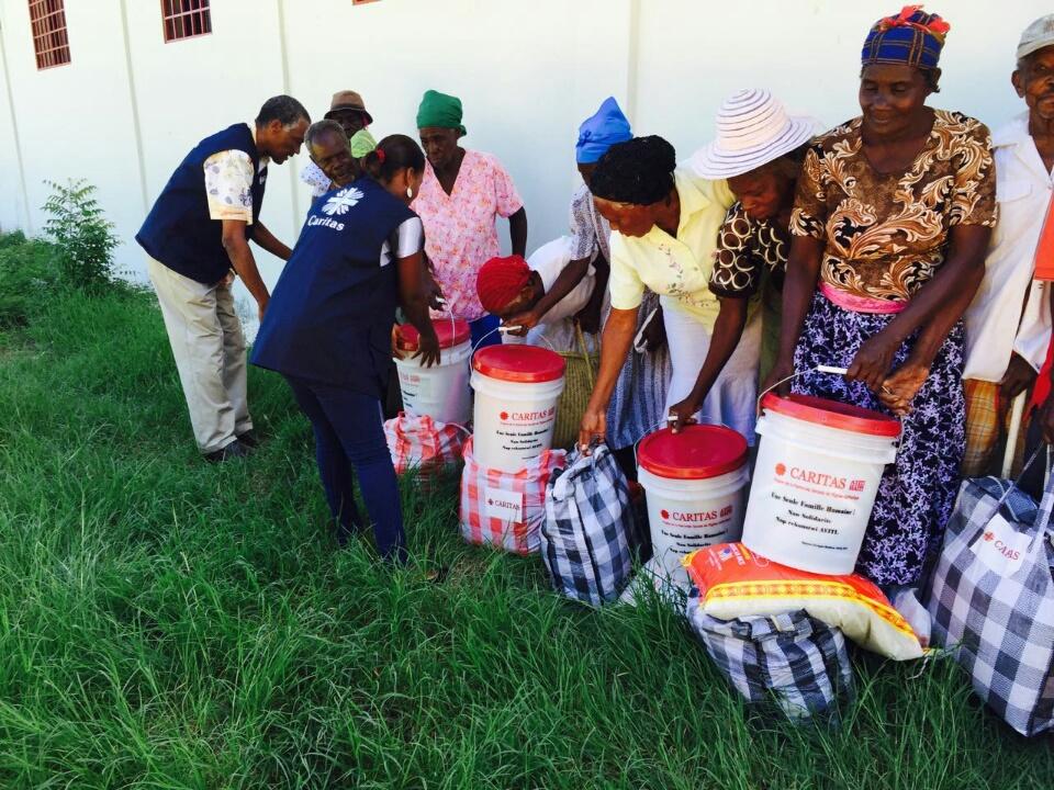 Ajuda da Caritas chega à população do Haiti / Foto: Caritas Internacional