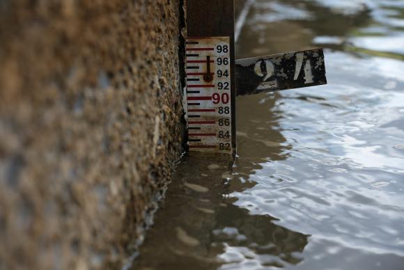 Nível de água da Barragem do Descoberto está abaixo da média histórica / Foto: Fabio Rodrigues Pozzebom - Agência Brasil