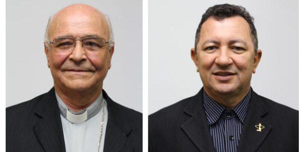 Da esquerda para direita, Dom José Palmeira Lessa e Dom João José Costa / Foto: CNBB