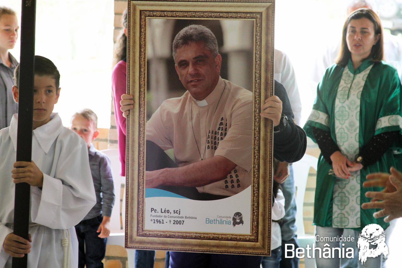 Padre Léo segue eternizado na memória dos fiéis / Foto: Comunidade Bethânia