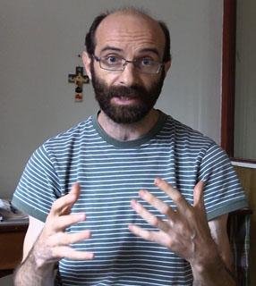 Padre Dario Bossi, missionário comboniano / Foto: Divulgação