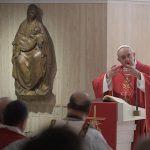 Em Missa, Papa fala sobre criação e redenção