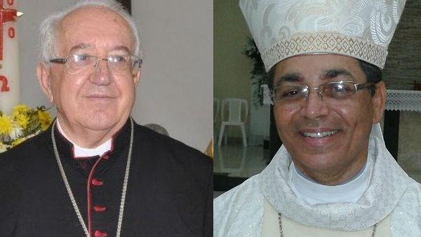 Dom Czeslau renunciou por motivo de idade e Dom Carlos assume sua função como bispo de Itabuna / Foto: Arquivo