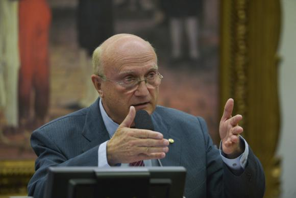 Osmar Serraglio irá comandar o Ministério da Justiça / Foto: José Cruz-Agência Brasil