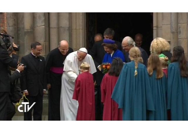 papa delegacao ecumenica - RV
