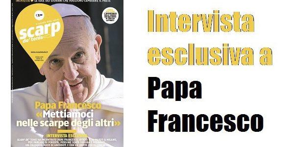 Capa do Jornal que traz entrevista com Papa Francisco./ Foto: Divulgação