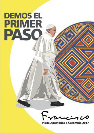 Logo da viagem do Papa à Colômbia / Foto: Divulgação-RV