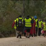 Centenas de peregrinos vão a pé para Fátima
