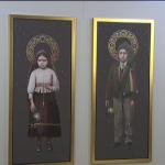 Retratos oficiais de Jacinta e Francisco são expostos