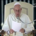 Papa Francisco saúda brasileiros pelos 300 anos de Aparecida