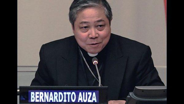 Bernadito Auza, Núncio Apostólico e Observador Permanente da Santa Sé para as Nações Unidas