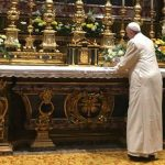 Papa agradece a Nossa Senhora por viagem a Mianmar e Bangladesh