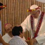 No Peru, Papa se encontra com povos da Amazônia