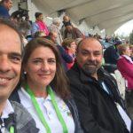 Peregrinos do Brasil participam do Encontro Mundial das Famílias