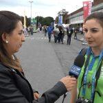 Brasileira conta como é ser voluntária no Encontro Mundial das Famílias