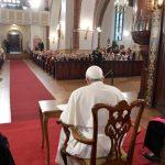 Letônia: Papa fala aos idosos na Catedral de São Tiago, em Riga