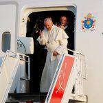 Após encontro com voluntários da JMJ, Papa despede-se do Panamá