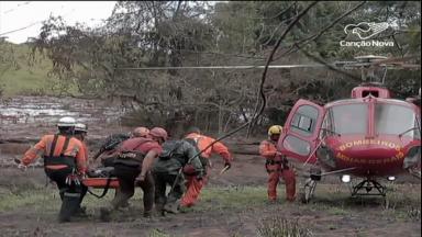Bombeiros do interior de São Paulo seguem para ajudar em Brumadinho