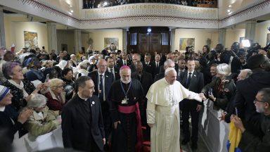No Marrocos, Papa Francisco se encontra com o Conselho Ecumênico