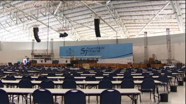 Episcopado brasileiro inicia 57ª Assembleia Geral em Aparecida, nesta quarta