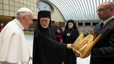Papa encoraja comunidade de rito grego a viver a fraternidade cristã