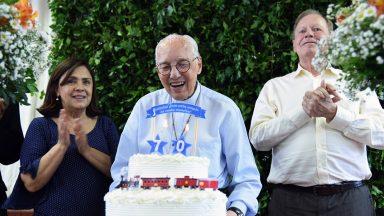 Padre Jonas completa 70 anos de sua chegada em Lavrinhas