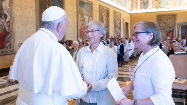 Papa encoraja trabalho da Rede Talitha Kum contra o tráfico de pessoas