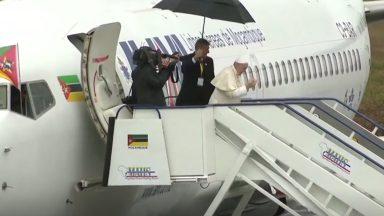 Papa se despede de Moçambique e segue para Madagascar