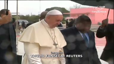 Papa dá início à sua segunda etapa da viagem apostólica