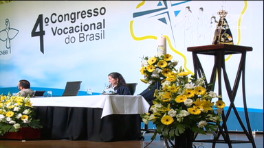 Participantes do Congresso Vocacional vivem momento de formação