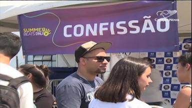 Encontro pelo Dia Nacional da Juventude reúne multidão em SP