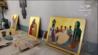 Mosteiro das Beneditinas abriga grande centro da arte iconográfica