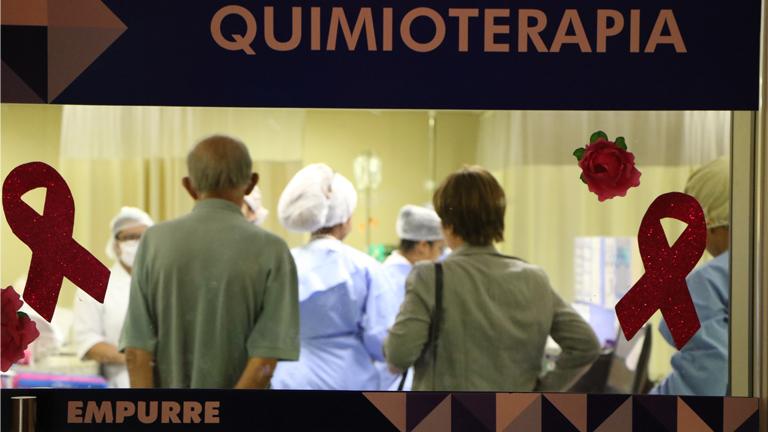Setor de quimioterapia, no núcleo oncológico do Hospital / Foto: Rogéria Nair - Canção Nova