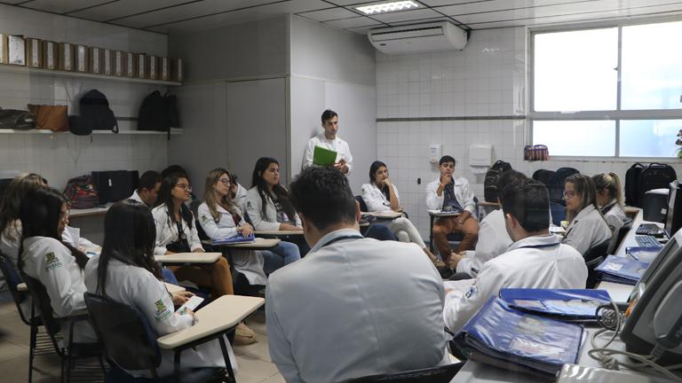 Médicos residentes no Hospital Santo Antônio / Foto: Rogéria Nair - Canção Nova