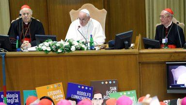 Papa Francisco: o Espírito Santo é o protagonista do Sínodo