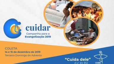 Campanha para a Evangelização 2019 será lançada neste domingo