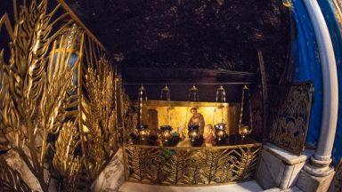 Papa Francisco doa relíquia da manjedoura à Custódia da Terra Santa