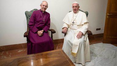 Papa e Justin Welby expressam intenção de visitar juntos o Sudão do Sul