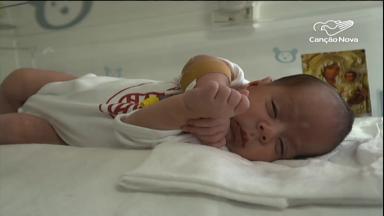 Em Belém, aparelho permite que bebês fiquem mais próximos às mães