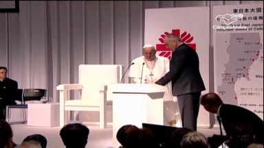 Papa Francisco visita cidades atingidas pela bomba atômica