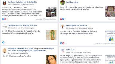 Fiéis da América Latina se unem em Dia Continental de Oração pela Paz