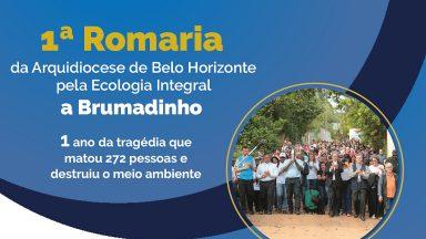Em BH, Romaria pela Ecologia Integral recorda um ano de Brumadinho