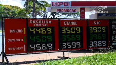 Petrobrás reduz em 3% preços da gasolina e do diesel nas refinarias